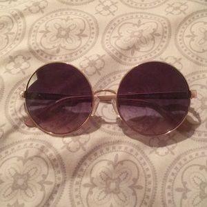 michael khors round sunglasses